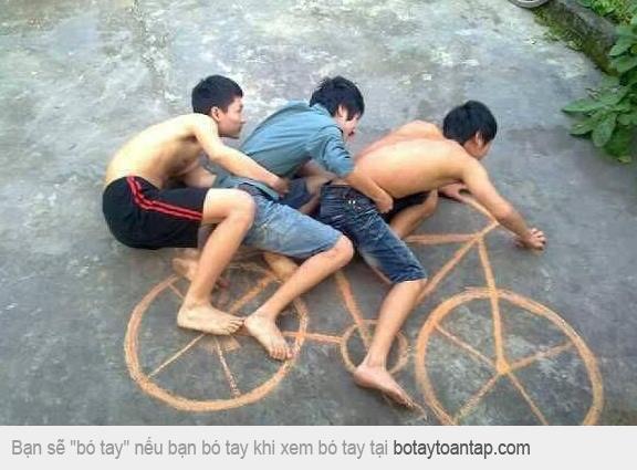 Diễn sâu với xe đạp